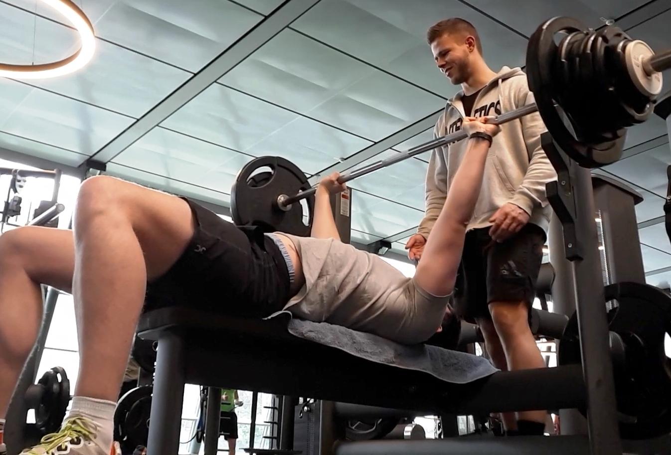 Training nach Knochenbruch
