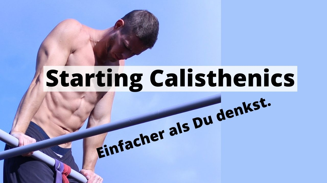 Calisthenics Muskelaufbau und Trainingsplan richtig machen